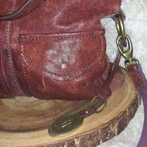 Fossil Bags - Vintage Fossil Leather Handbag